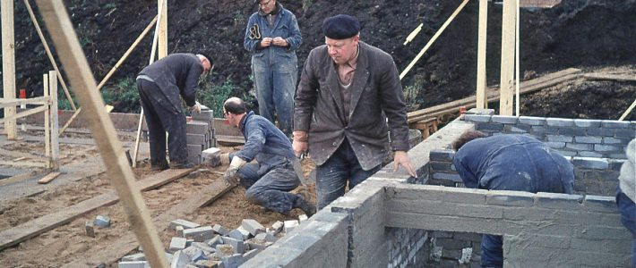 Zelfbouwers in Tuindorp Oost Utrecht